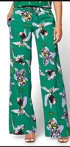 Palazzo Pant - Orchid Print - 7th Avenue